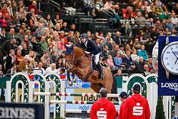 DEVOS Pieter (BEL), Espoir<br /> Leipzig - Partner Pferd 2018   <br /> Longines FEI World Cup Jumping Qualifikation    <br /> © www.sportfotos-lafrentz.de/Stefan Lafrentz