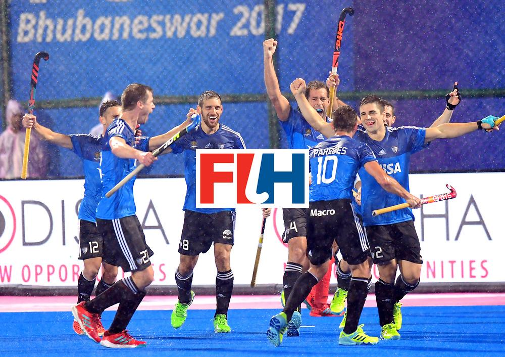 Odisha Men's Hockey World League Final Bhubaneswar 2017<br /> Match id:19<br /> India v Argentina<br /> Foto: Gonzalo Peillat (Arg) scored 0-1<br /> COPYRIGHT WORLDSPORTPICS FRANK UIJLENBROEK