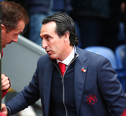 October 28, 2018 - London, England, United Kingdom - London, England - October 28, 2018.Unai Emery manager of Arsenal .during Premier League between Crystal Palace and Arsenal at Selhurst Park stadium , London, England on 28 Oct 2018. (Credit Image: © Action Foto Sport/NurPhoto via ZUMA Press)