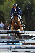 Paris, France : Philippe Rozier riding Cristallo A LM during the Longines Paris Eiffel Jumping 2018, on July 5th to 7th, 2018 at the Champ de Mars in Paris, France - Photo Christophe Bricot / ProSportsImages / DPPI