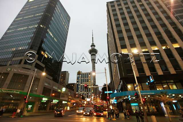 Queen Street is the main shopping area in Auckland central, visitors will find everything here from haute couture fashion labels to cheap souvenirs