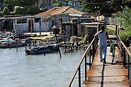 Fishing boats in Santa Cruz del Norte, Mayabeque, Cuba.
