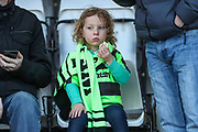 FGR fan during the EFL Sky Bet League 2 match between Morecambe and Forest Green Rovers at the Globe Arena, Morecambe, England on 17 February 2018. Picture by Shane Healey.