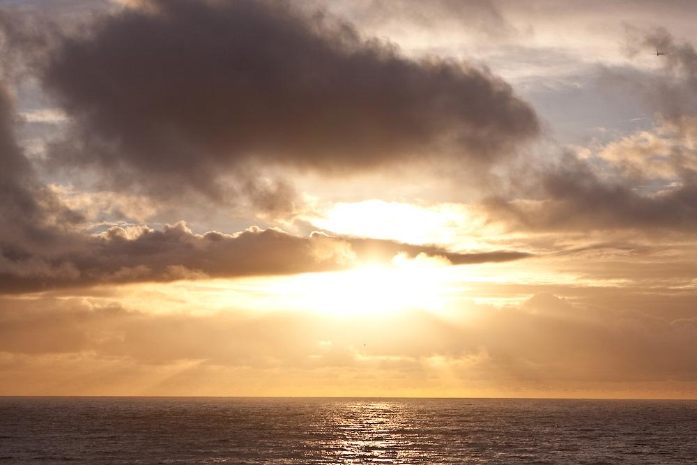 SHOTS OF OCEAN AND SKIES