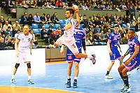 Nemanja Ilic - 01.04.2015 - Toulouse / Cesson Rennes - 19eme journee de Division 1<br />Photo : Manuel Blondeau / Icon Sport