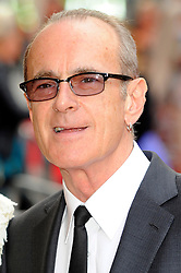 Bula Quo UK film premiere.  <br /> Francis Rossi attends premiere of Status Quo action film featuring 12 of the rock band's classic tracks. Directed by former stunt co-ordinator Stuart St Paul, starring Jon Lovitz, Craig Fairbrass, Laura Aikman and the band members themselves. Released July 5. Odeon West End, London, United Kingdom.<br /> Monday, 1st July 2013<br /> Picture by Chris Joseph / i-Images