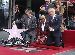 March 16, 2018 - Los Angeles, California, U.S - Jeff Zarrinnam, Jane Fonda, Leron Gubler and Mitch O'Farrell attend RuPaul's Hollywood Walk of Fame Star ceremony on Friday, March 16, 2018, in Los Angeles. (Credit Image: © Ringo Chiu via ZUMA Wire)