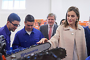 100416 Queen Letizia attends the Opening of the training course 2016-2017