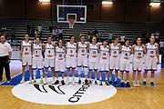 Squadra<br /> Nazionale Femminile Senior Amichevole<br /> FIP 2017<br /> Latina, 27/05/2017<br /> Foto Ciamillo-Castoria / GiulioCiamillo