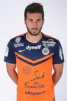 Mathieu DEPLAGNE - 23.07.2014 - Portraits officiels Montpellier - Ligue 1 2014/2015<br /> Photo : Icon Sport