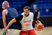 Marco Belinelli<br /> Nazionale Italiana Maschile Senior<br /> Eurobasket 2017 - Group Phase<br /> Italia Italy <br /> FIP 2017<br /> Tel Aviv, 31/08/2017<br /> Foto Ciamillo - Castoria/ Mancini Ivan