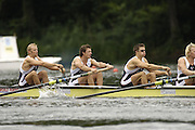 2006 FISA World Cup, Lucerne, SWITZERLAND, 07.07.2006. Men's Four, GBR M4- bow, Alex PARTRIDGE, Steve WILLIAMS, Peter REED, Andy TWIGGS HODGE ,   Photo  Peter Spurrier/Intersport Images email images@intersport-images.com.[Friday Morning]...[Mandatory Credit Peter Spurrier/Intersport Images... Rowing Course, Lake Rottsee, Lucerne, SWITZERLAND.