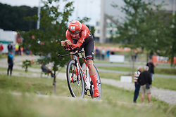 Lucinda Brand (NED) at Boels Ladies Tour 2019 - Prologue, a 3.8 km individual time trial at Tom Dumoulin Bike Park, Sittard - Geleen, Netherlands on September 3, 2019. Photo by Sean Robinson/velofocus.com