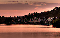 Boathouse Row, Philadelphia, 2009