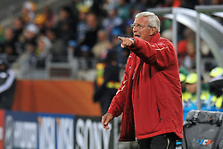 Football - soccer: FIFA World Cup South Africa 2010, Italy (ITA) - Paraguay (PRY), L' ALLENATORE MARCELLO LIPPI