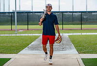 Trea Turner poses for a portrait.<br /> <br /> Photo by Tom DiPace