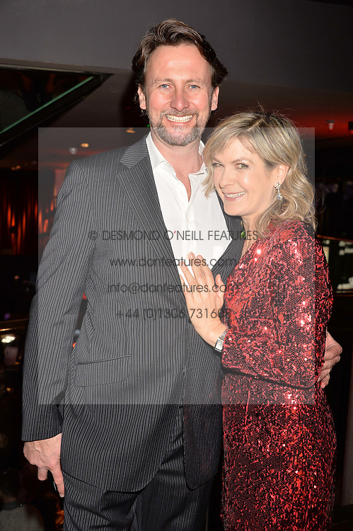 Penny Smith and Vince Leigh at the Costa Book of The Year Awards held at Quaglino's, 16 Bury Street, London England. 31 January 2017.