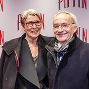 NLD/Amsterdam/20160310 - Premiere Pippin, Karel de Rooij en partner Yvonne