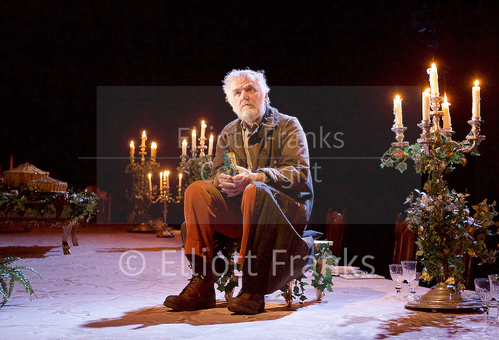 Light Shining in Buckinghamshire <br /> by Caryl Churchill <br /> directed by Lyndsey Turner at the Lyttelton Theatre NT Southbank, London, Great Britain <br /> 22nd April 2015 <br /> <br /> <br /> <br /> Allan Williams<br /> <br /> <br /> <br /> Photograph by Elliott Franks <br /> Image licensed to Elliott Franks Photography Services