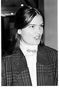 MISS EMMA KITCHENER, Paul O' Gorman foundation. Chelsea Hotel. London. 17 January 1989.<br /><br />SUPPLIED FOR ONE-TIME USE ONLY> DO NOT ARCHIVE. © Copyright Photograph by Dafydd Jones 248 Clapham Rd.  London SW90PZ Tel 020 7820 0771 www.dafjones.com