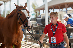 Ehning Marcus, GER, Pret A Tout<br /> World Equestrian Games - Tryon 2018<br /> © Hippo Foto - Dirk Caremans<br /> 17/09/2018