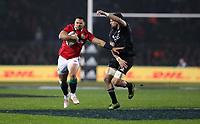 Rugby Union - 2017 British & Irish Lions Tour of New Zealand - Maori All Blacks vs. British & Irish Lions<br /> <br /> Ben Te'o of The British and Irish Lions holds off Elliot Dixon of The Maori All Blacks at Rotorua International Stadium, Rotorua.<br /> <br /> COLORSPORT/LYNNE CAMERON