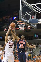 Virginia Cavaliers forward Jason Cain (33)..The Virginia Cavaliers defeated Morgan State 85-66 at the John Paul Jones Arena in Charlottesville, VA on November 19, 2006