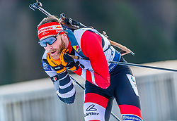 16.01.2020, Chiemgau Arena, Ruhpolding, GER, IBU Weltcup Biathlon, Sprint, Herren, im Bild Simon Eder (AUT) // Simon Eder of Austria during the men's sprint competition of BMW IBU Biathlon World Cup at the Chiemgau Arena in Ruhpolding, Germany on 2020/01/16. EXPA Pictures © 2020, PhotoCredit: EXPA/ Stefan Adelsberger