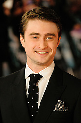 Daniel Radcliff attends The Woman in Black - World Premiere held at the Royal Festival Hall, London, Tuesday January 25, 2012. Photo By i-Images