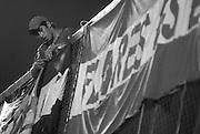 &copy;Javier Calvelo/ URUGUAY/ MONTEVIDEO/ COPA LIBERTADORES/<br /> GRUPO 4/ NACIONAL 1:0 CORONEL BOLOGNESI/ Nacional derrot&oacute; a Coronel Bolognesi 1:0 con gol de Deivis Barone (32'), en encuentro que se disput&oacute; en el Parque Central, por el Grupo 4 de la Copa Libertadores, quedando como &uacute;nico l&iacute;der.<br /> Cancha: Parque Central. Jueces: Paulo C&eacute;sar Oliveira, Alicio Pena y Hilton Rodr&iacute;guez (Brasil). GOL: 32' Deivis Barone (N)<br /> 2008-04-03 dia jueves<br /> foto: Javier Calvelo.