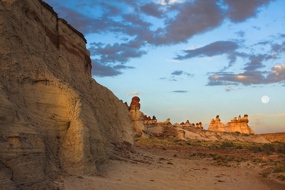 Hoodoos in Blue Canyon in northern Arizona
