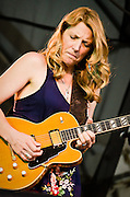 Susan Tedeschi of Tedeschi Trucks Band performing a the 2012 Appel Farm Arts & Music Festival.