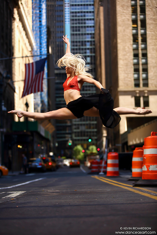 Dance As Art New York City Photography Project Midtown Manhattan with dancer, Erika Citrin.