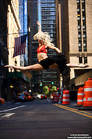 Dance As Art New York City Photography Project Midtown Manhattan with dancer, Erika Citrin.