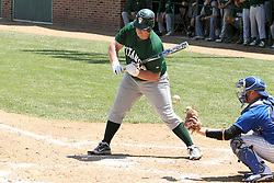11 May 2013:  Kevin Callahan during an NCAA division 3 College Conference of Illinois and Wisconsin (CCIW) Pay in Baseball game during the Conference Championship series between the North Park Vikings and the Illinois Wesleyan Titans at Jack Horenberger Stadium, Bloomington IL