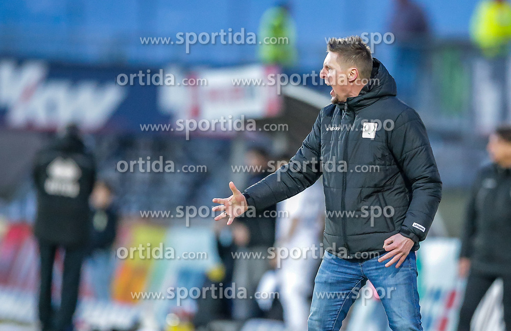 22.02.2019, Reichshofstadion, Lustenau, AUT, 2. FBL, SC Austria Lustenau vs SK Austria Klagenfurt, 16. Runde, im Bild Trainer Gernot Plassnegger (SC Austria Lustenau) // during the Erste Liga 16th round match between SC Austria Lustenau and SK Austria Klagenfurt at the Reichshofstadion in Lustenau, Austria on 2019/02/22. EXPA Pictures © 2019, PhotoCredit: EXPA/ Peter Rinderer