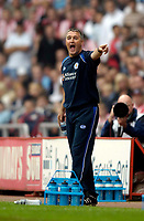 Photo: Jed Wee.<br />Sunderland v Leicester City. Coca Cola Championship. 16/09/2006.<br /><br />Leicester manager Micky Adams.
