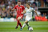 FUSSBALL CHAMPIONS LEAGUE SAISON 2017/2018 HALBFINALE, Real Madrid - FC Bayern Muenchen