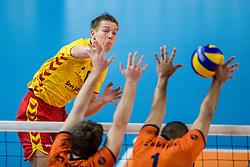 19-02-2017 NED: Bekerfinale Draisma Dynamo - Seesing Personeel Orion, Zwolle<br /> In een uitverkochte Lanstede Topsporthal wordt de eerste bekerfinale gespeeld / <br /> Nico Maneschijn #6 of Dynamo