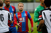 Another game for the U21's for Barry Bannan as he looks to leave on loan during the Pre-Season Friendly match between Tooting & Mitcham and Crystal Palace at Imperial Fields, Tooting, United Kingdom on 24 July 2015. Photo by Michael Hulf.