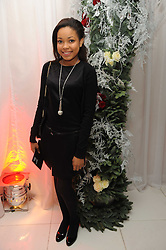 Dionne Bromfield at the launch of the English National Ballet's Christmas season 2009 held at the St.Martin;s Lane Hotel, London on 15th December 2009.