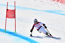 VICTOR Stephani LW12-2 SUI competing in ParaSkiAlpin, Para Alpine Skiing, Super G at PyeongChang2018 Winter Paralympic Games, South Korea.