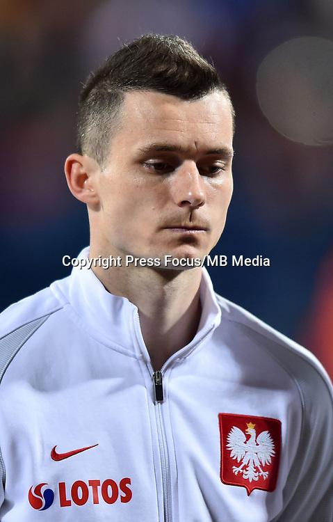 2017.03.26 Podgorica<br /> Pilka nozna kadra reprezentacja<br /> Eliminacje Mistrzostw Swiata Rosja 2018<br /> Czarnogora - Polska<br /> N/z Krzysztof Maczynski<br /> Foto Lukasz Laskowski / PressFocus<br /> <br /> 2017.03.26 Podgorica<br /> Football <br /> FIFA 2018 World Cup Qualifying game between Montenegro and Poland<br /> Krzysztof Maczynski<br /> Credit: Lukasz Laskowski / PressFocus