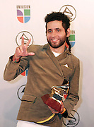 Grammy winners Calle 13 poses in the press room at the 7th Annual Latin Grammy Awards at Madison Square Garden  on Thursday, November 2, 2006 in New York.