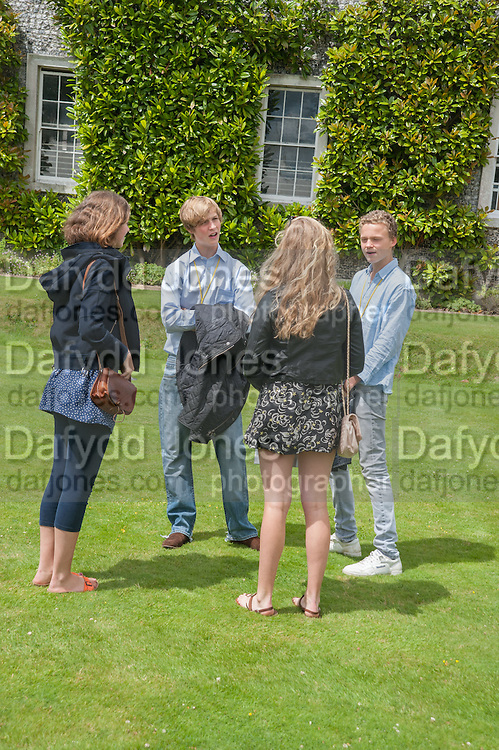 NANCY CASE; WILL GORDON-LENNOX; TED MACDONALD-BUCANAN; ROSANNA BUCKNILL, The Cartier Style et Luxe during the Goodwood Festivlal of Speed. Goodwood House. 1 July 2012.