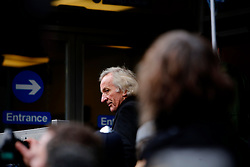 UK ENGLAND LONDON 14DEC10 - Journalist and broadcaster John Pilger arrives at Westminster Magistrates Court to attend Julian Assange's bail hearing...The Wikileaks founder, who is wanted for questioning in Sweden over alleged sex crimes, was granted £200,000 bail yesterday but the Swedish authorities challenged the decision...jre/Photo by Jiri Rezac..© Jiri Rezac 2010