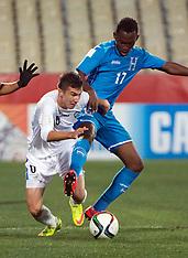 Christchurch-Football, Under 20 World Cup, Uzbekistan v Honduras