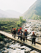 Vietnam's Highland Mung live in the cold and fertile valleys of Vietnam's north, three hours from the nation's capital Hanoi. Vietnam, Hanoi, Sapa