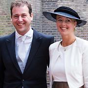 NLD/Den Haag/20130917 -  Prinsjesdag 2013, Vicepremier Lodewijk Asscher met partner …..
