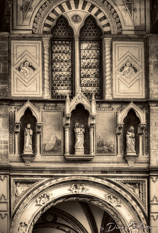 """The Loggia del Bigallo Florence - BW""…"